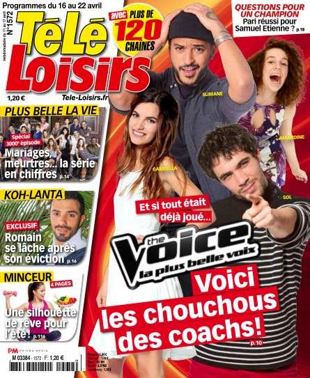 Télé Loisirs - 16 au 22 Avril 2016
