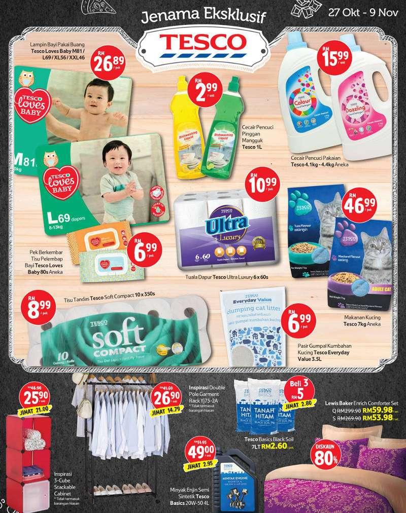 Tesco Malaysia Weekly Catalogue (27 October - 2 November 2016)