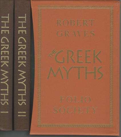 The Greek Myths (Folio Society 2 Volume Set in Slipcase), Graves, Robert