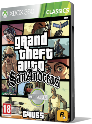 [XBOX360] Grand Theft Auto: San Andreas HD Remake (2015) - SUB ITA