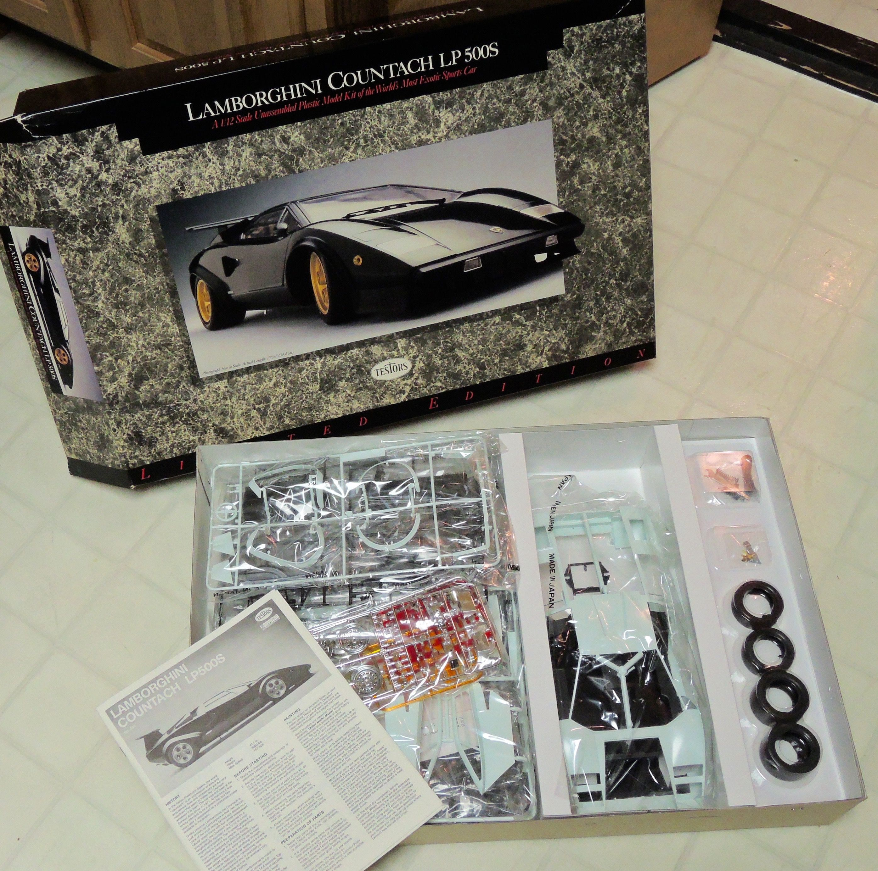 1 12 Lamborghini Countach Lp500s Finescale Modeler Essential