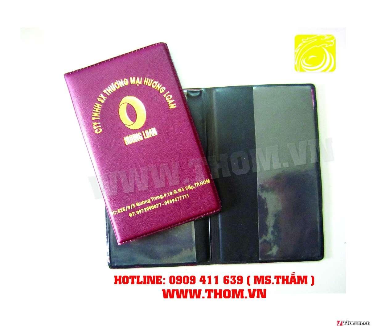 Cơ sở sản xuất bìa da, bìa menu da, bìa sổ da, làm bìa kẹp tiền da, bìa kẹp hồ sơ da giá rẻ 09094116