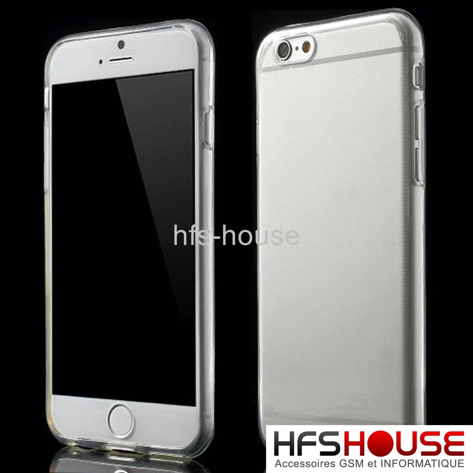 Coque housse etui pour iphone 6 6s silicone gel tpu for Housse pour iphone 6