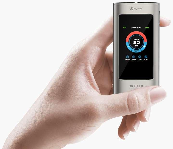 Joyetech Ocular Mod: Touchscreen technology with smart system_vaporl.com