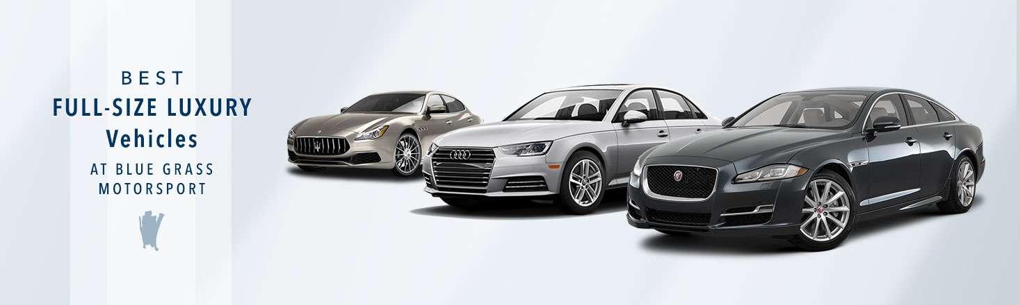 Best Full-size Luxury Sedans