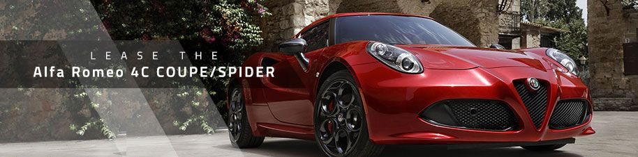 Leasing a Alfa Romeo4C Coupe/Spider