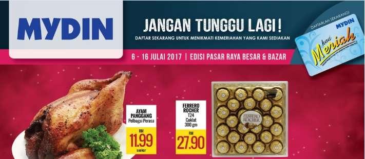 Mydin Catalogue(6 July – 16 July 2017)