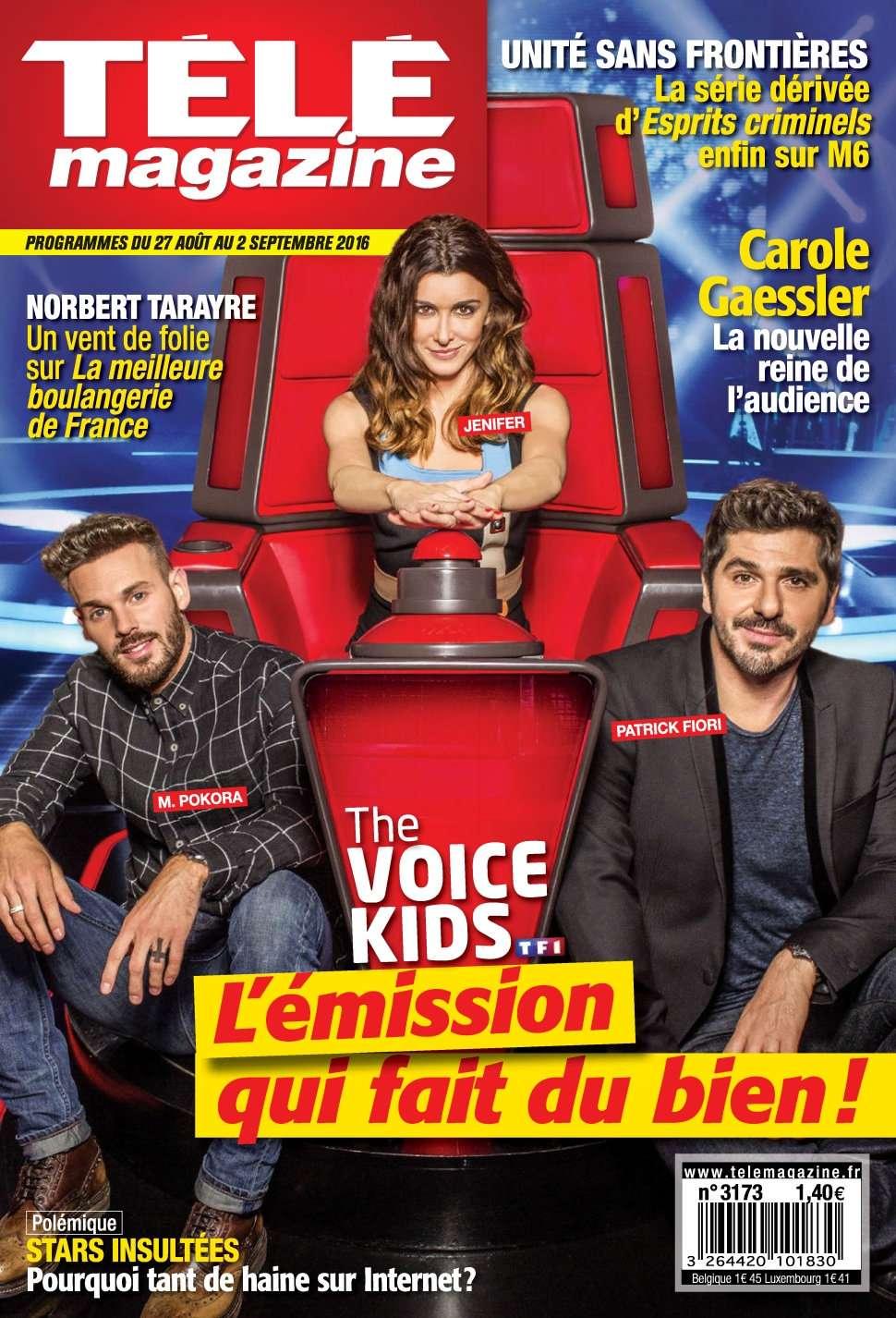 Télémagazine 3173 - 27 Août Au 02 Septembre 2016