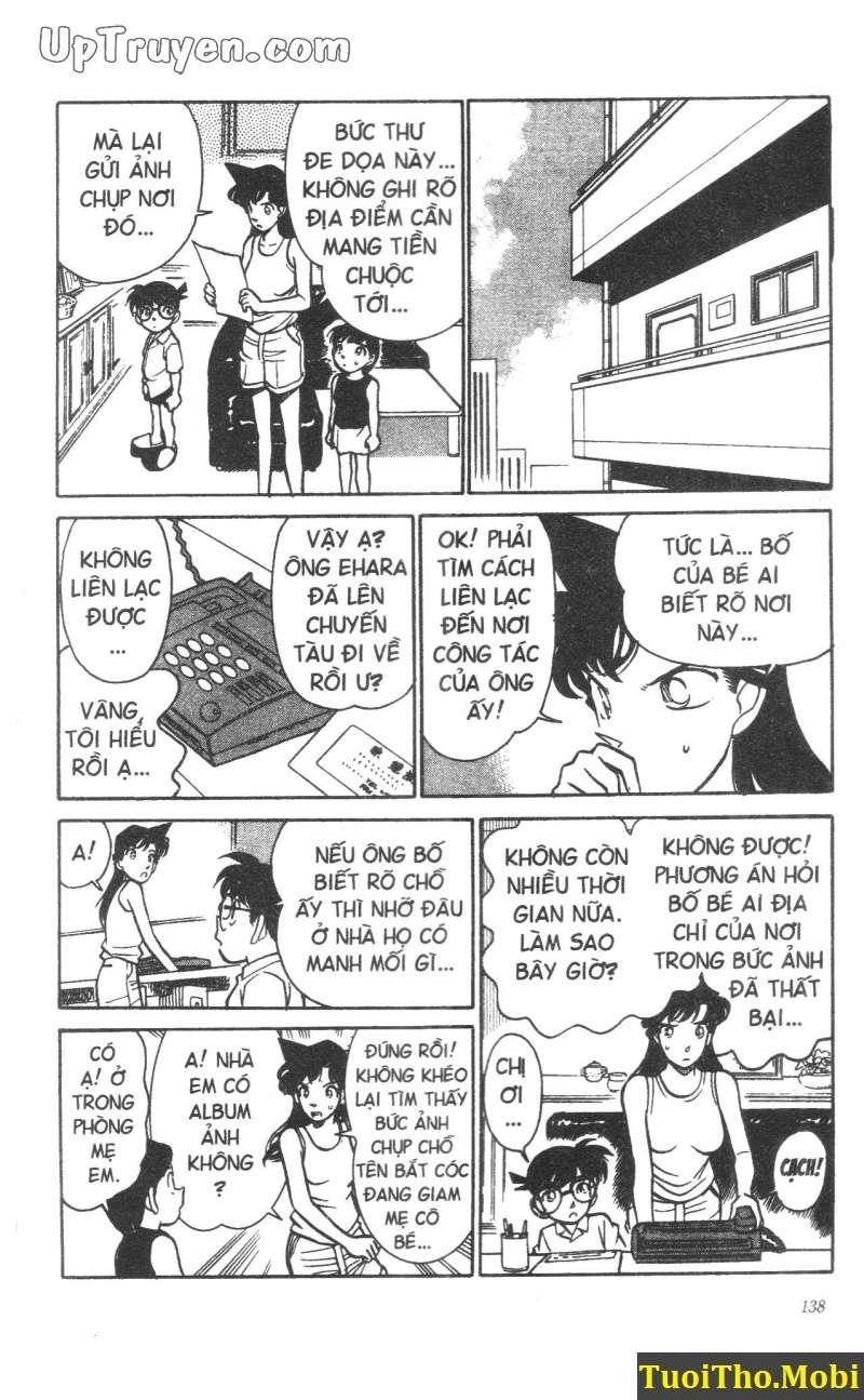 đọc truyện Conan bộ đặc biệt chap 16 trang 5