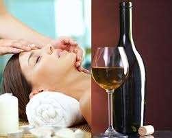 Các cách làm sáng da bằng rượu vang