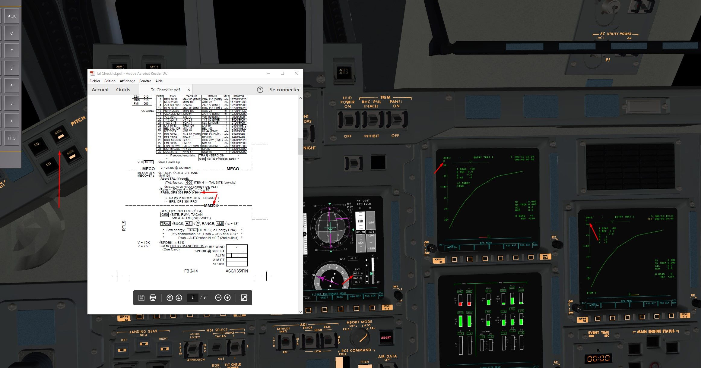 FlightGear forum • View topic Space Shuttle Tutorial TAL let s