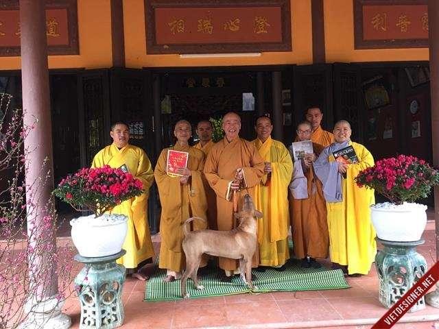 Nam Đông: BTS Phật giáo Nam Đông thăm chúc tết hòa thượng chứng minh.