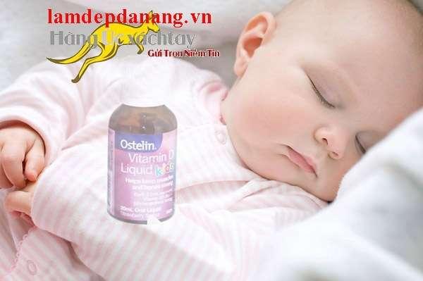 Vitamin D Ostelin dạng nước cho trẻ em 925