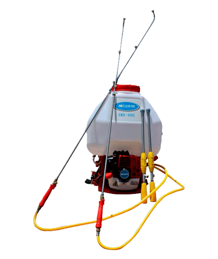 Fumigadora Aspersora Motorizada 25lt 2 Varillas Mpower