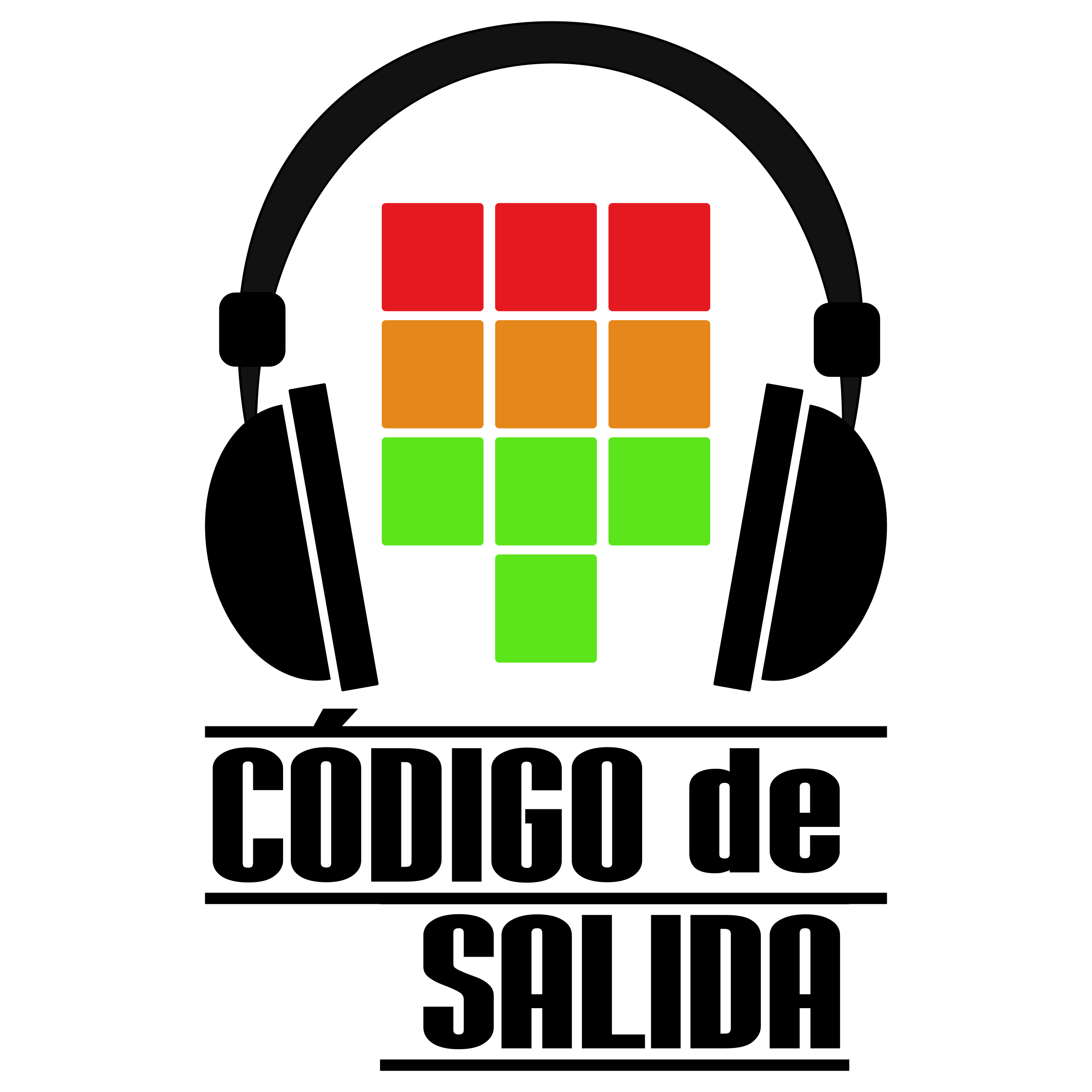 Logo de Código de salida