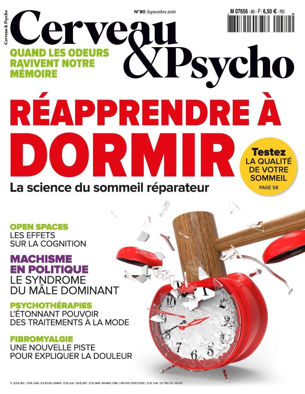 Cerveau & Psycho 80 - Septembre 2016