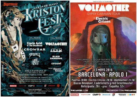 Wolfmother - fechas
