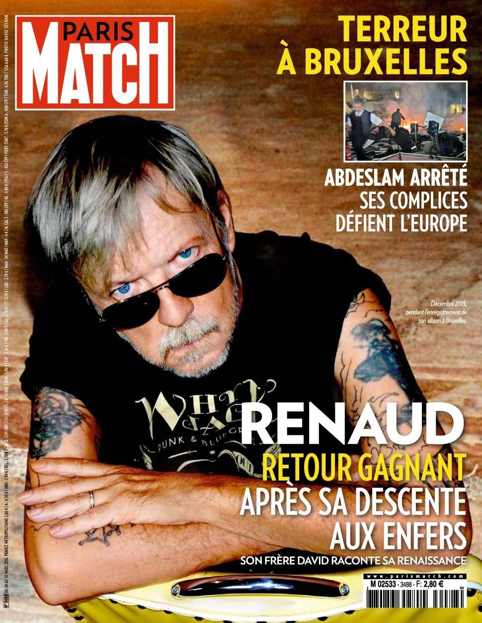 Paris Match 3488 - 24 au 30 Mars 2016