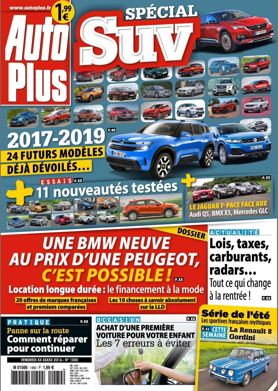Auto Plus 1460 - 26 Août au 02 Septembre 2016