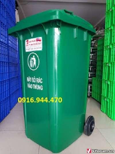 Mua thùng rác nhựa 240 lít giá rẻ chất lượng ở đâu?