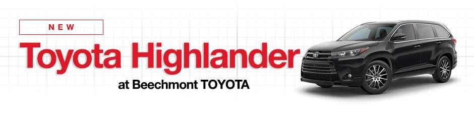 New Toyota Highlander For Sale In Cincinnati, Ohio