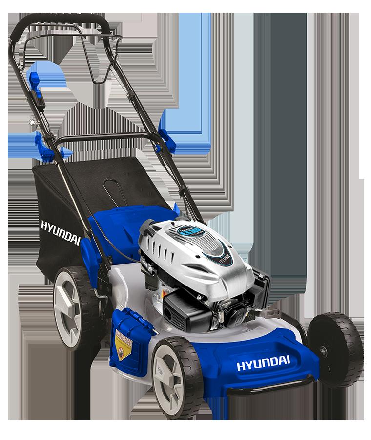 Podadora Hyundai con Motor 3.5 hp Gasolina 4 Tiempos 20&quot