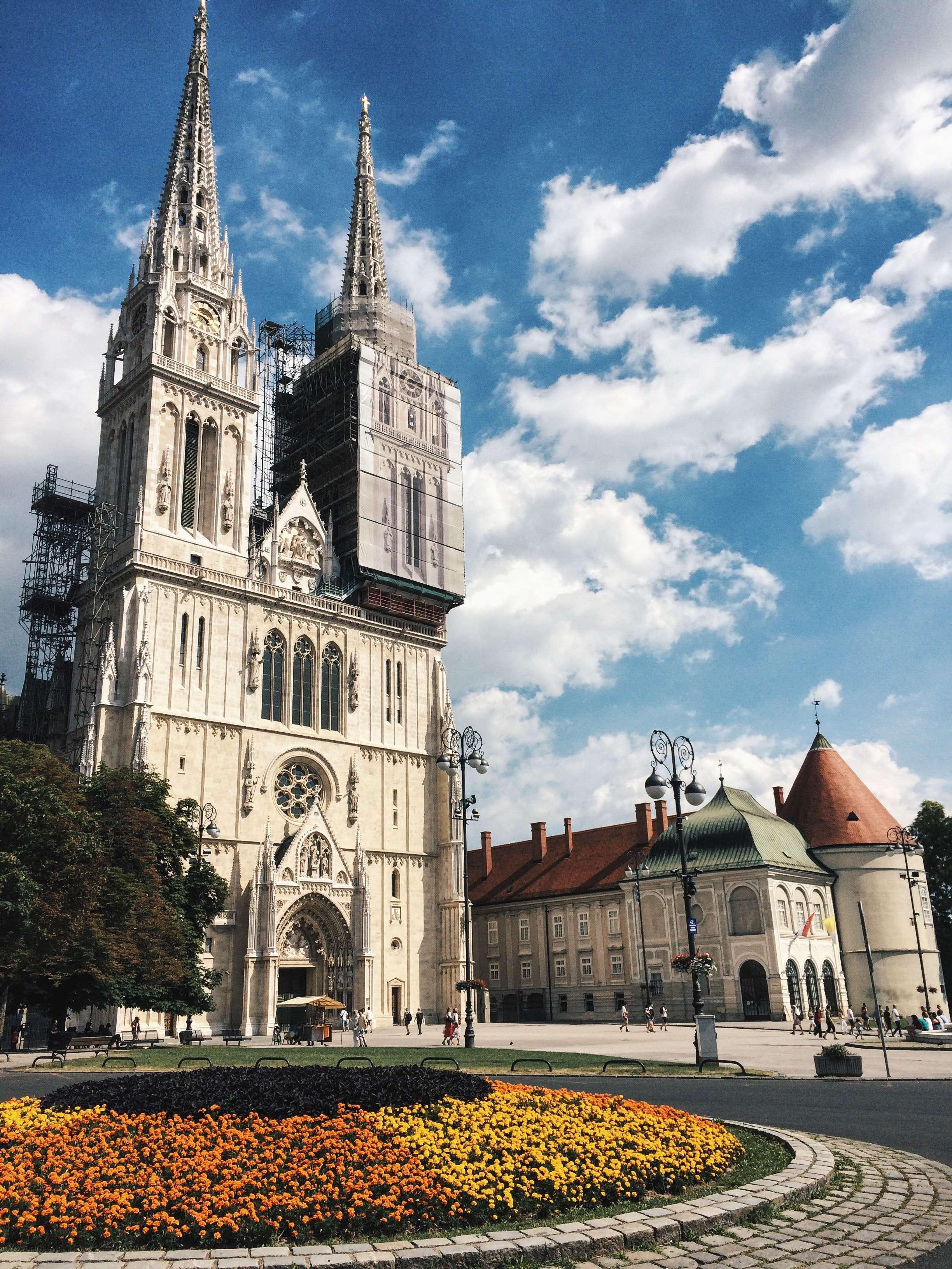 cathédrale, zagreb