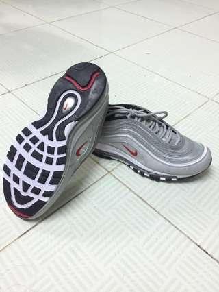 Giay Sneaker nam the thao NK mau xam bac GSK0001 hang xuat du xin