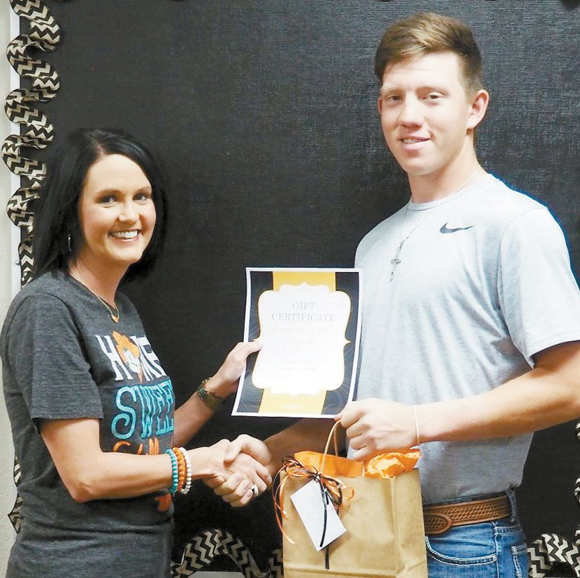 April Student of the Month: Nathan Jackson