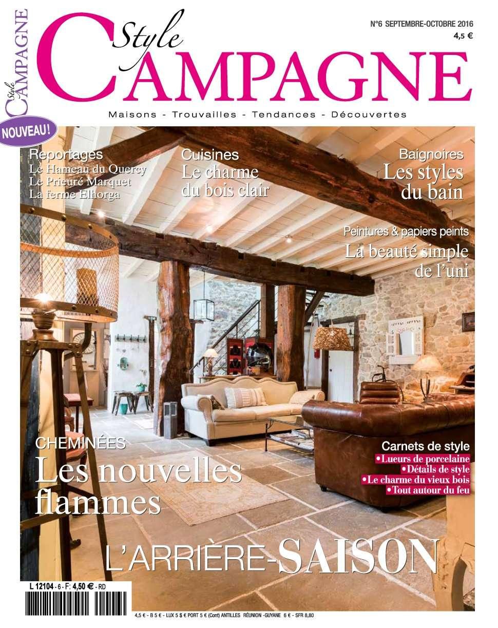 Style Campagne 6 - Septembre/Octobre 2016