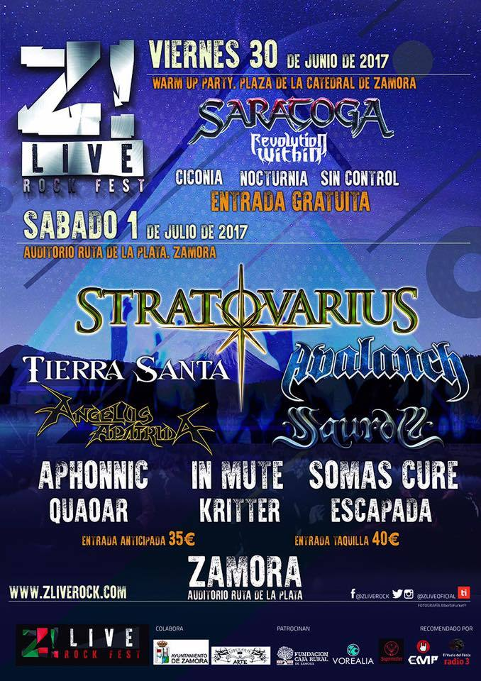 Z! Live Fest cartel