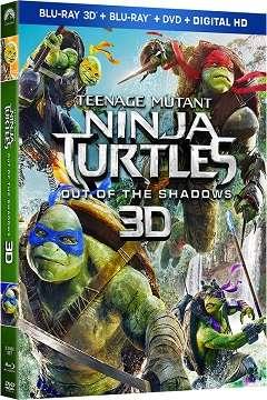 Ninja Kaplumbağalar Gölgelerin İçinden - 2016 3D BluRay m1080p Half-SBS Türkçe Dublaj MKV indir