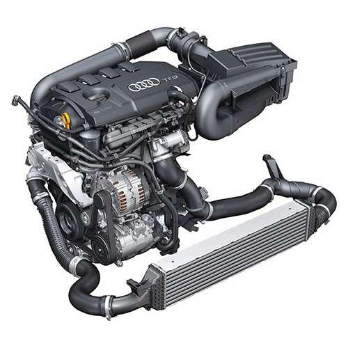 2018 Audi Q3 2.0 Liter TFSI Engine