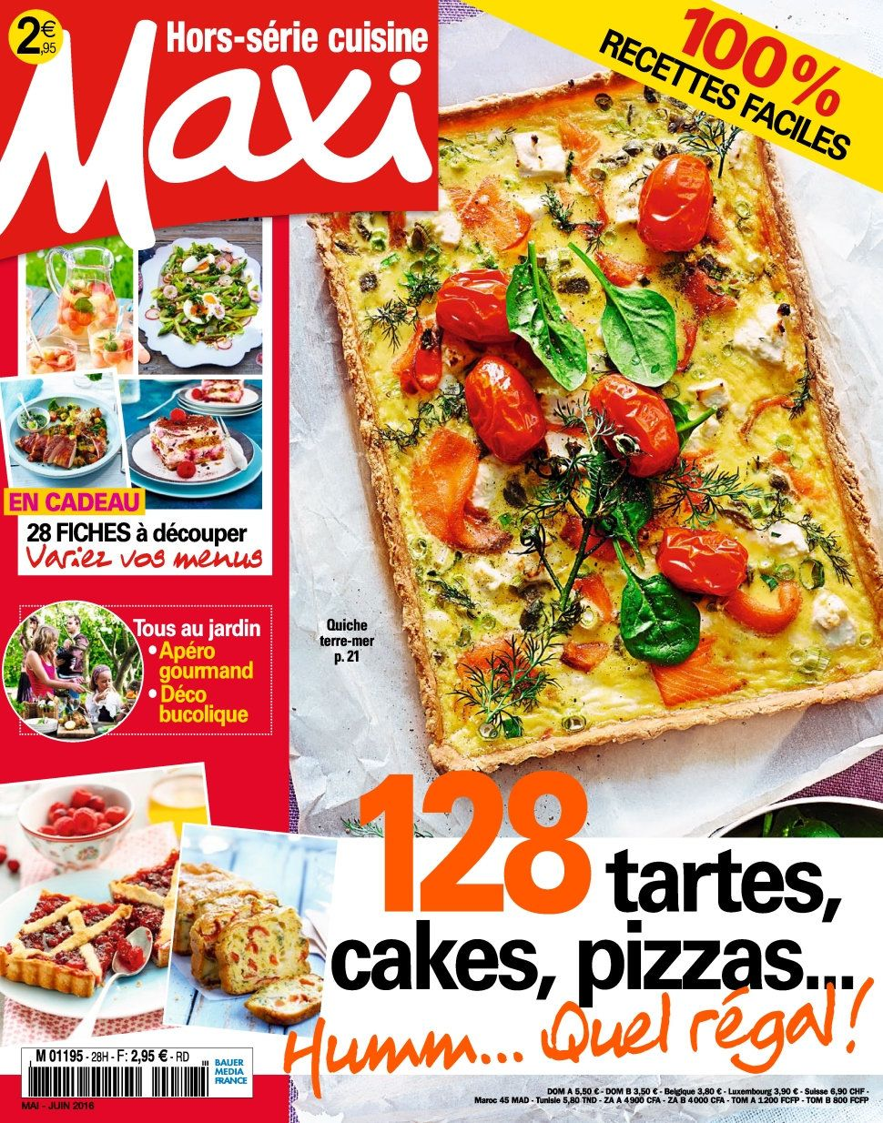 Maxi Hors Série Cuisine 29 - Mai/Juin 2016