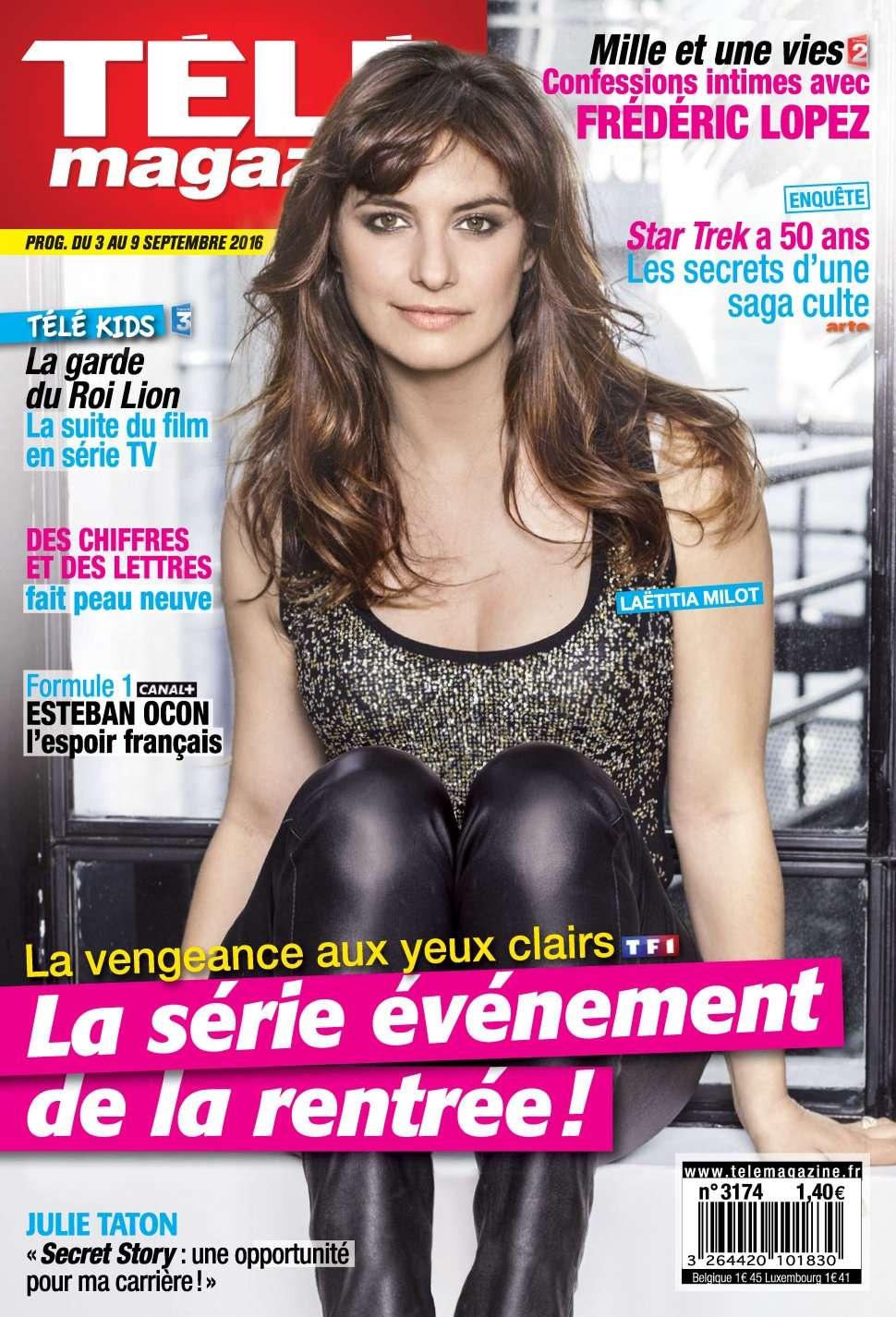 Télémagazine 3174 - 03 au 09 Septembre 2016