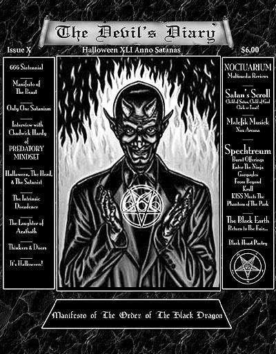 The Devil's Diary X