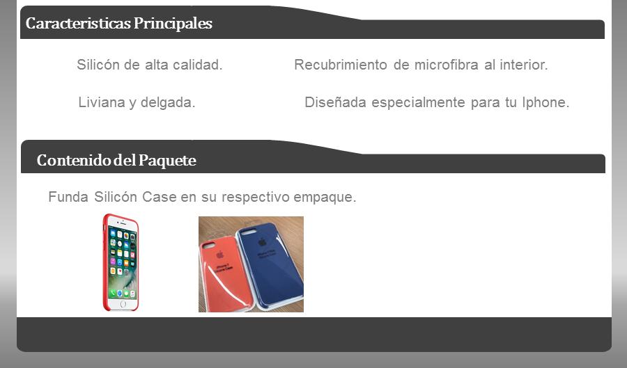 funda iphone 7 y iphone 7 plus