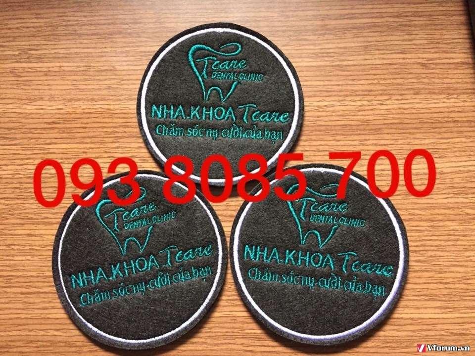Nhà cung cấp lót ly vải nỉ, lót ly giấy, lot ly nhựa PVC in và thêu logo theo yêu cầu 0938085700