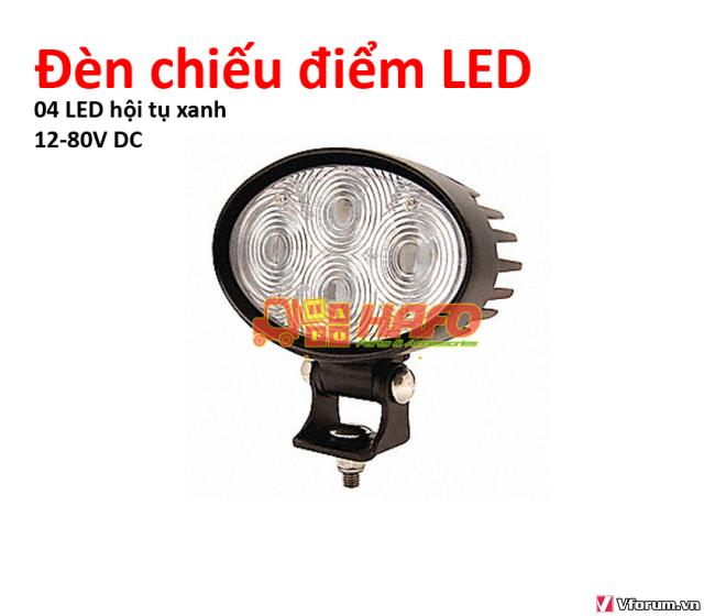 Đèn  cảnh báo 48V-12V-24V, Đèn cảnh báo xe nâng, Đèn pha xe nâng 48V - 8