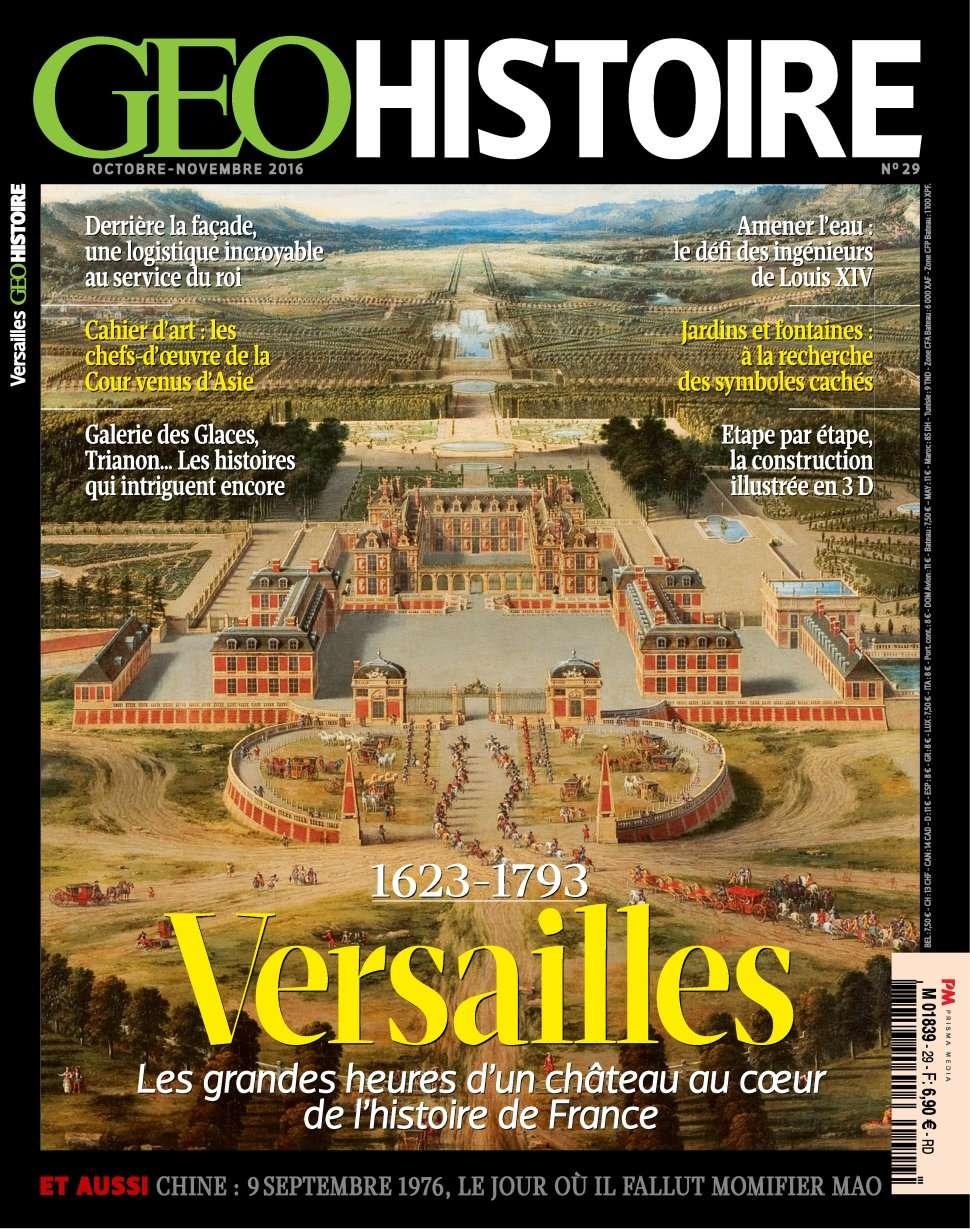 Geo Histoire 29 - Octobre/Novembre 2016