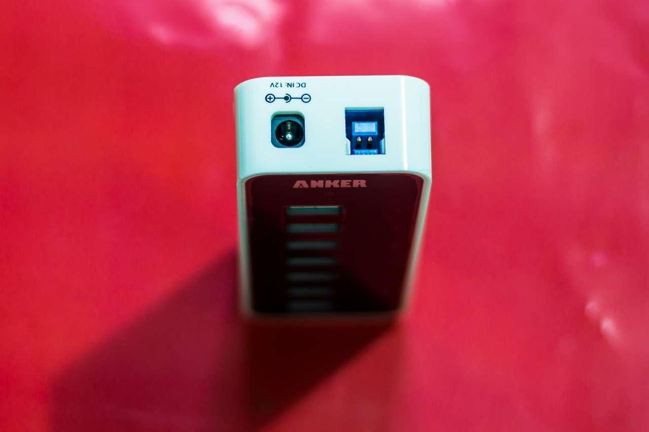 Anker USB 3.0 Hub 7*USB 3.0 Ports: Hub USB 7 cổng kèm khả năng sạc với công suất 60W cho 7 thiết bị - 164564