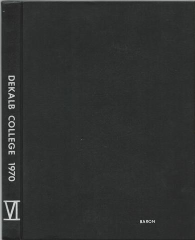 The Baron Dekalb College 1970 Illinois HC Yearbook, Baron Staff