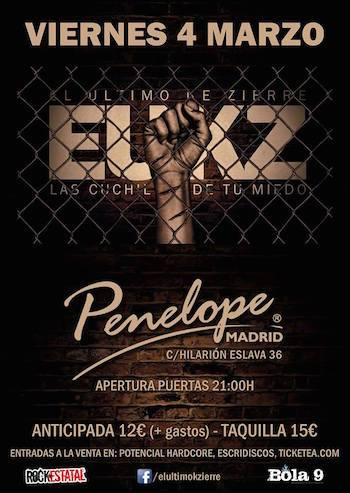 EUKZ en Madrid cartel