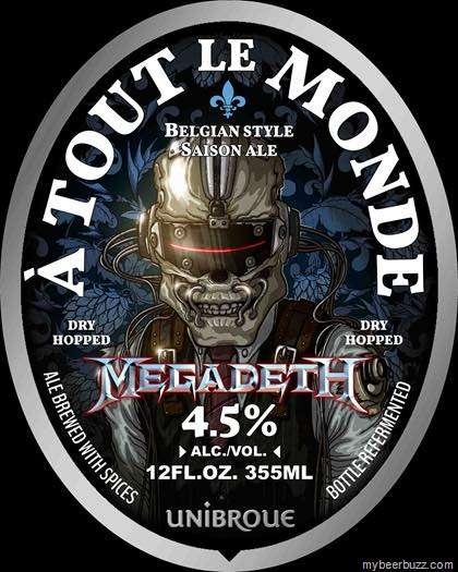 Cerveza Megadeth