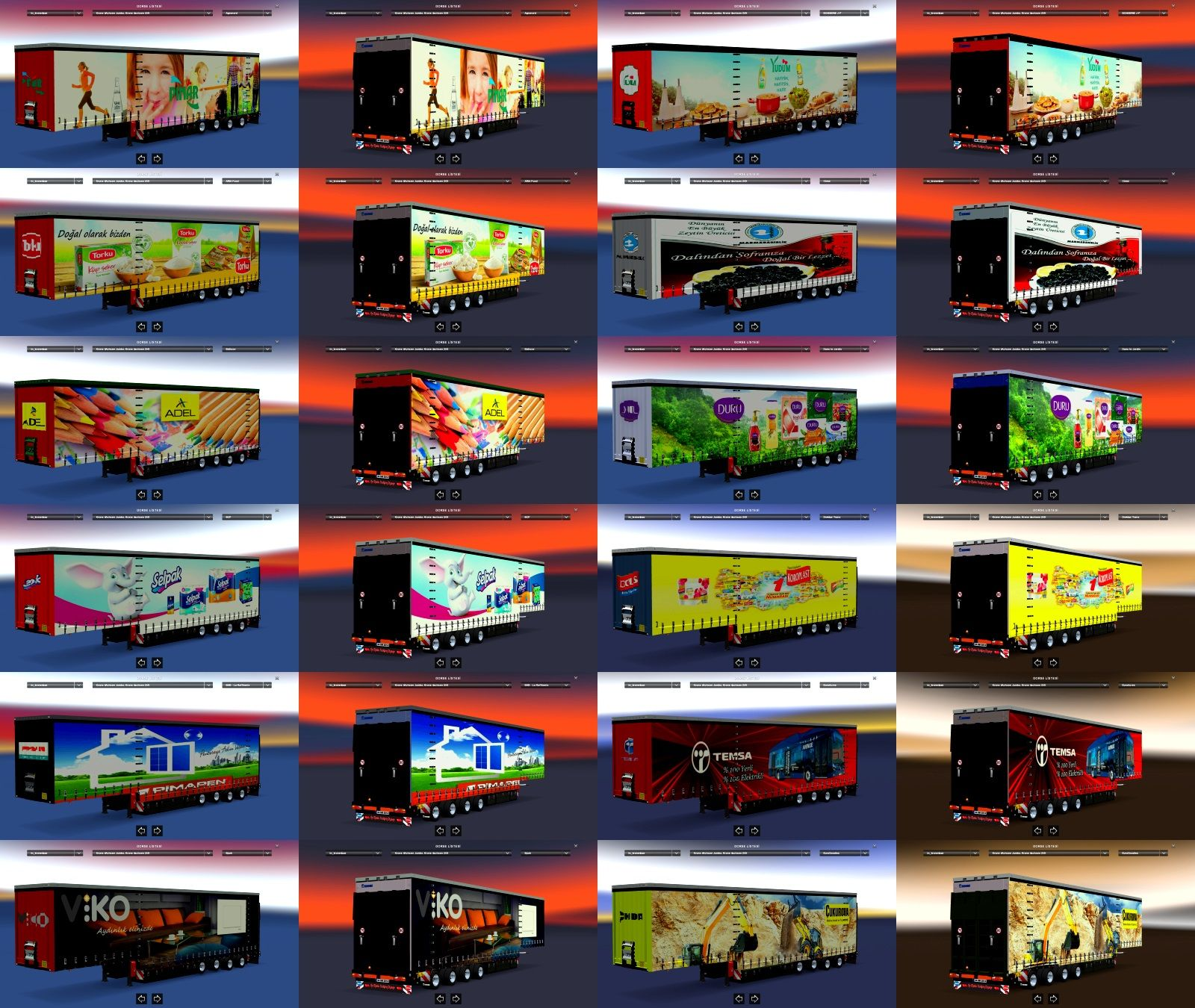 Turkish Brandings Realistic Trailers Pack v1 by zuhida96
