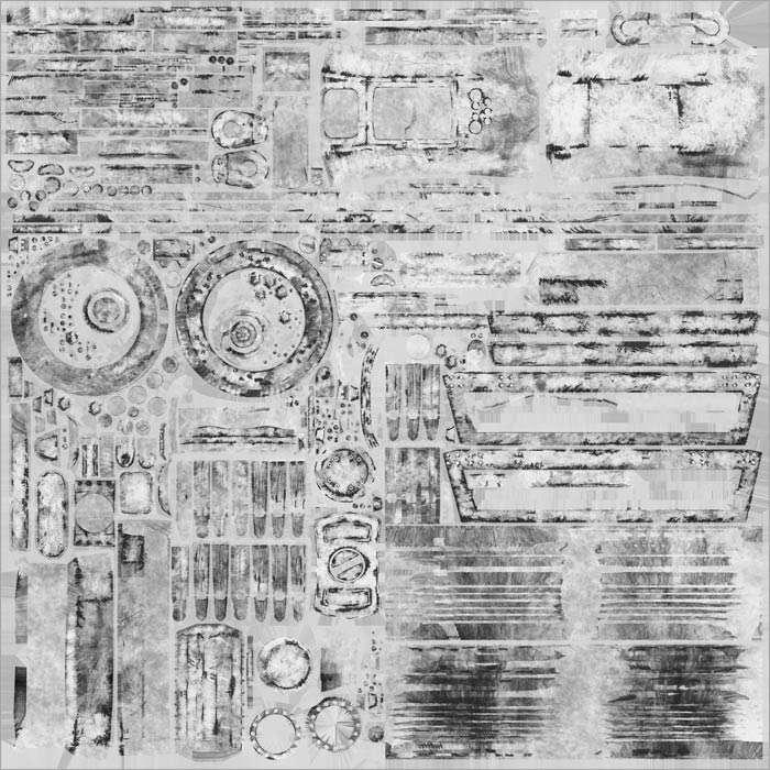 Rims specular map