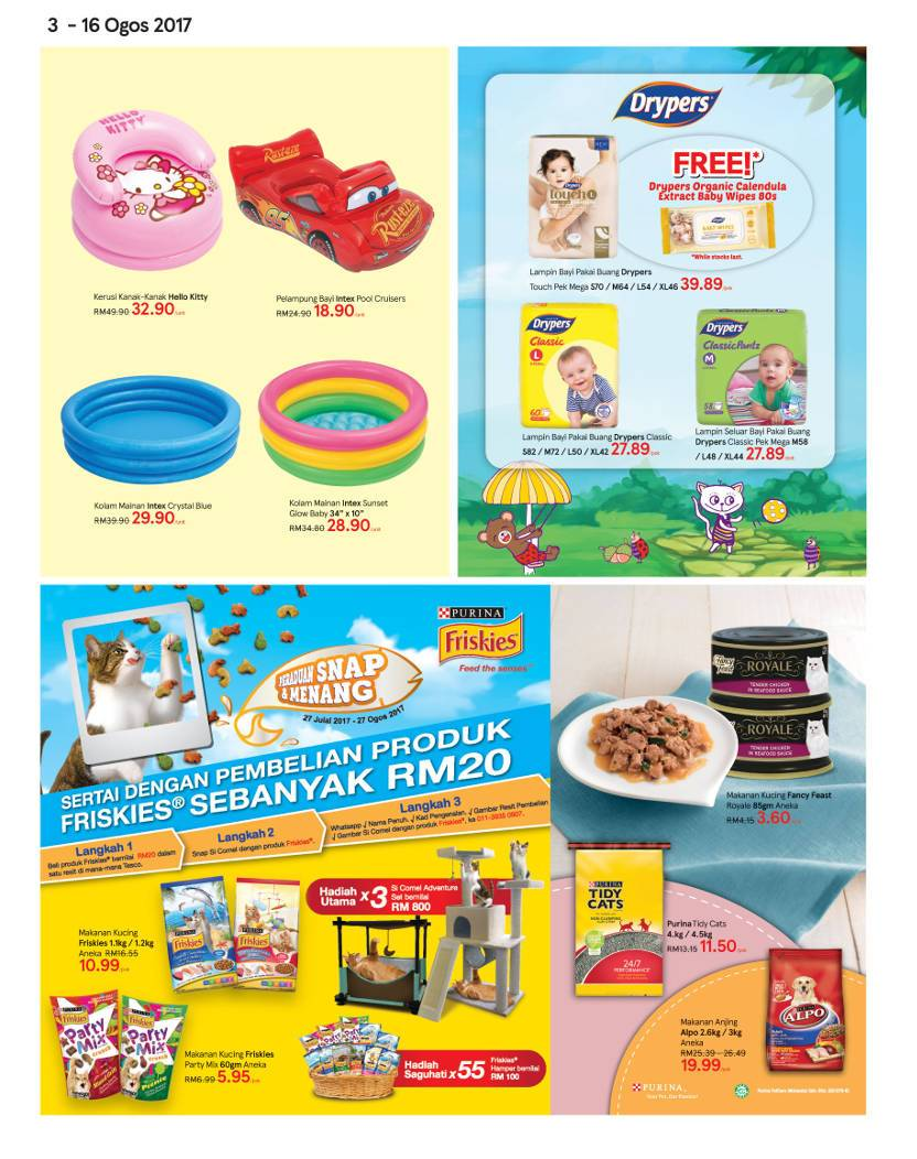 Tesco Malaysia Weekly Catalogue (3 Aug 2017 - 9 Aug 2017)