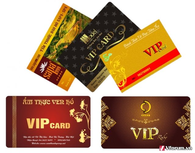 Lý do bạn nên đặt in thẻ VIP ở Hồng Đăng