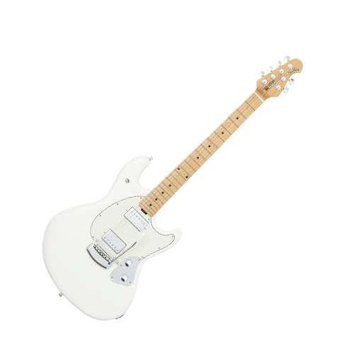 Musicman - Guitarra Electrica Stingray con Estuche, Color: Blanco Mod.825-IW-10-07