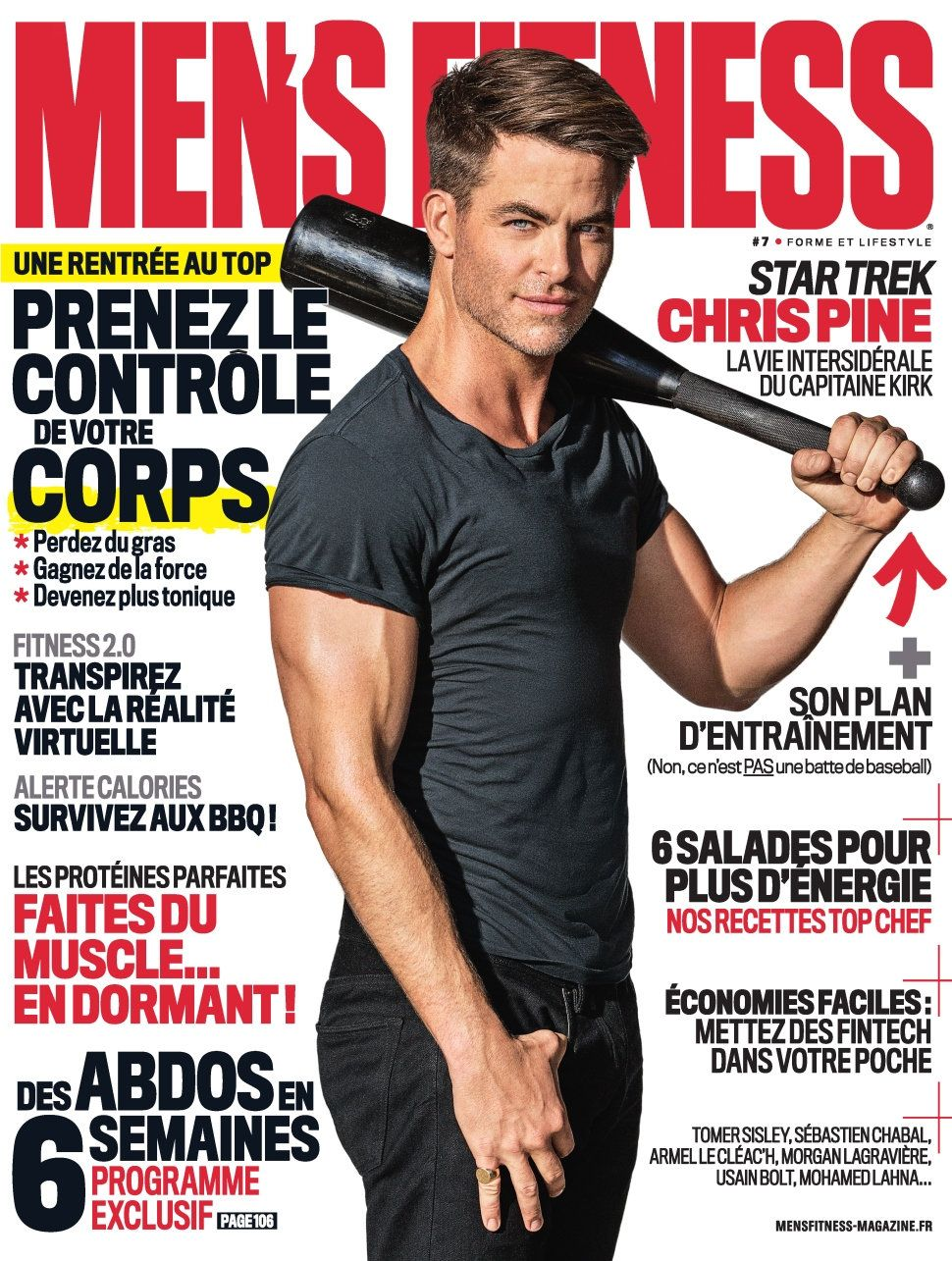 Men's Fitness 7 - Septembre 2016